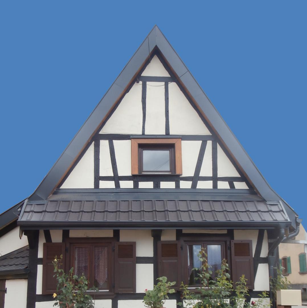 Habillage Pignon Maison Pose De Bardage En Composite